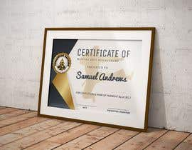 #9 for Design a Martial Arts rank certificate by sununes