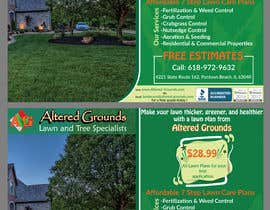 #17 for Design a print ad for a lawn care business af KaaziTahasin