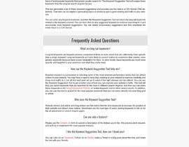 nº 30 pour One page site redesign par bellalbellal25