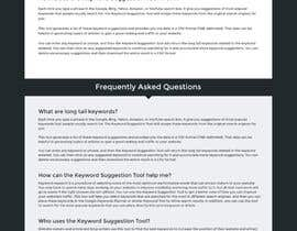 nº 28 pour One page site redesign par axeemsharif