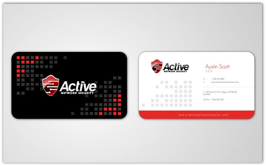 Entry #34 by aries000 for Business Card Design for Active Network ...