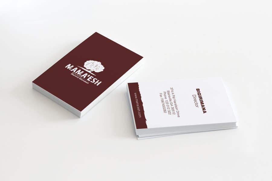 Konkurrenceindlæg #12 for Design a Business card