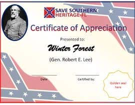 #24 for Design a Powerpoint template for a Certificate of Appreciation by Rachawadee