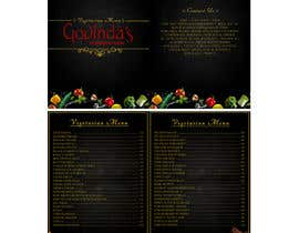#29 for Design a menu card/book for my restaurant af rezzahilmy2312