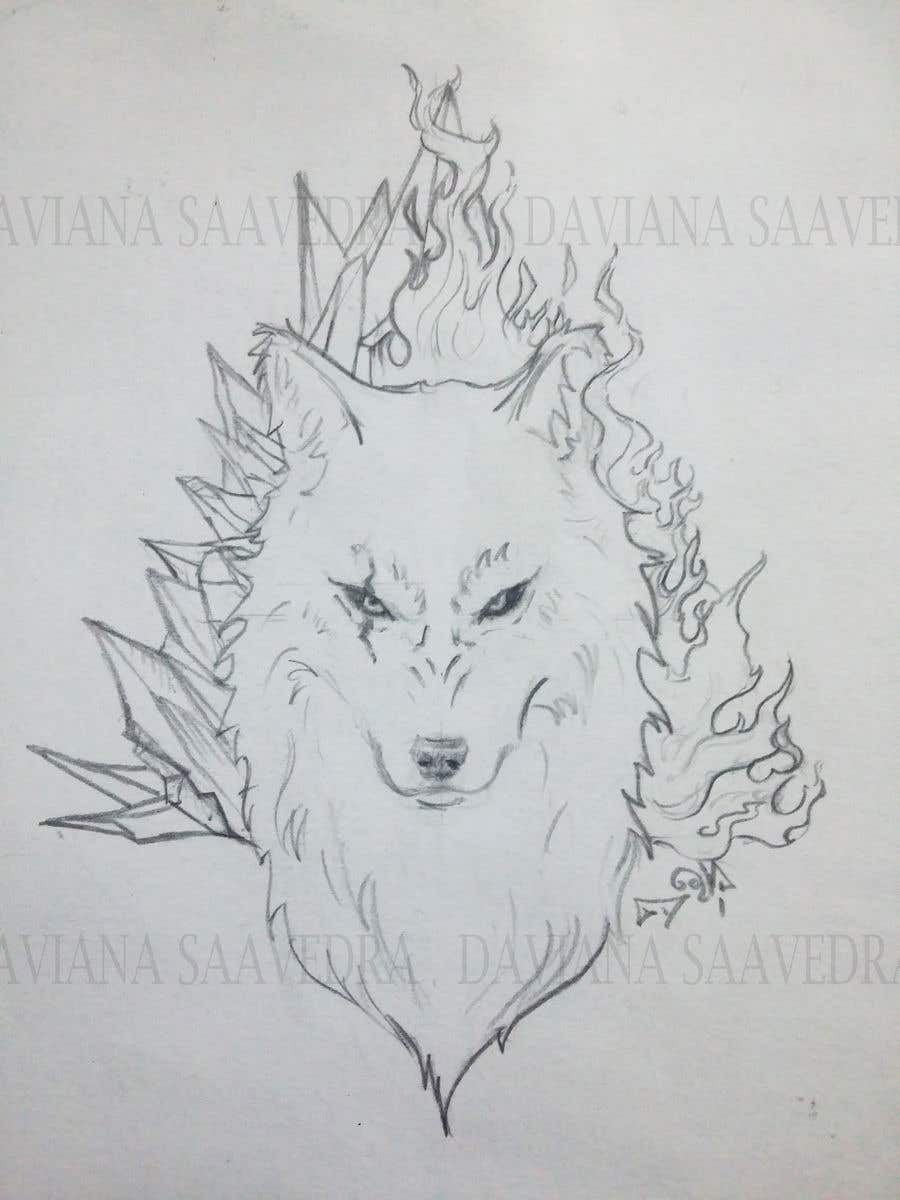Entry 47 By Daviana For Wolf Tattoo Design Freelancer