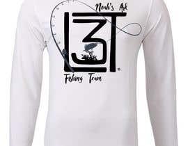 #12 para Design a Pro Fishing Team Shirt por Llianew
