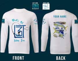 #20 para Design a Pro Fishing Team Shirt por SyafishamSalleh