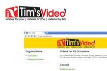 Graphic Design Kilpailutyö #441 kilpailuun Logo design for Tim's Video