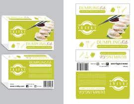 #24 for Dumpling Kit Box Sleeve Design by eling88