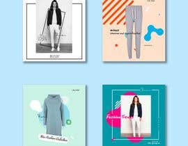 #23 untuk Create 6 or 9 social media images and content with a relaxed weekend loungewear theme oleh IslamNasr07
