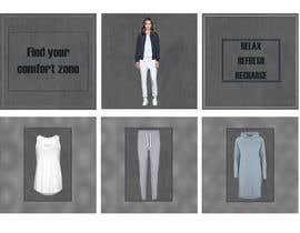 #16 untuk Create 6 or 9 social media images and content with a relaxed weekend loungewear theme oleh Mysticabh