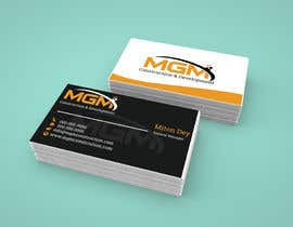 #25 for Business Card and logo by DagnnerMiton