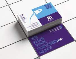 Nro 152 kilpailuun business card design for a digital marketing company! käyttäjältä HuntPatricia