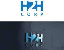 #5 untuk We need a clean professional yet awesome logo to help our branding efforts. Our company name is h2h Corp (Here 2 Help). We provide IT consulting, cloud/hosting, home/business maintenance services oleh Nikapal