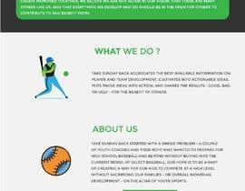 #33 για Simple wix.com sports-oriented not-for-profit website από mnsiddik84