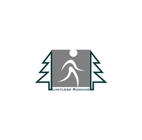 Proposition n°17 du concours Looking for a new logo for a running apparel company that specializes in shirts and hats. The company name is Limitless Running. The theme should revolve around nature and trail running. Pine trees, mountains, etc.