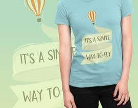 Nro 56 kilpailuun Hot Air Balloon Tshirt Design käyttäjältä mactais