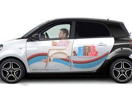 #20 for Design a Car Branding Adverstisement on Smart ForFour by fajar923