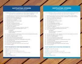 Nro 7 kilpailuun One page checklist design käyttäjältä anantomamun90