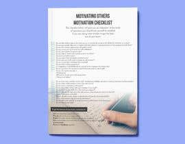 Nro 19 kilpailuun One page checklist design käyttäjältä Inadvertise