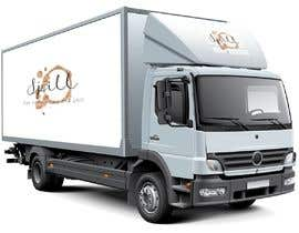 #6 para I have uploaded some examples for u along with the logo the truck has to be with tires so we can move it and the size has to be 5m x 3m por ROMANBD6