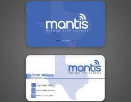 #1036 para Mantis business card design de rahnumarah476