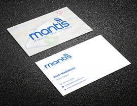 #1076 para Mantis business card design de RasalBabu