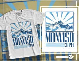 #7 для Design Mountain T-Shirt от adingph