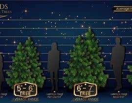 nº 17 pour Christmas Tree Sizing Guide par jorgelaf0129
