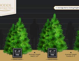 nº 9 pour Christmas Tree Sizing Guide par Minhal110