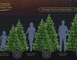 nº 16 pour Christmas Tree Sizing Guide par noparsley