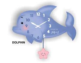 Nro 115 kilpailuun Simple Cartoon clock design käyttäjältä istykristanto