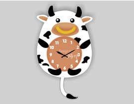Nro 118 kilpailuun Simple Cartoon clock design käyttäjältä istykristanto