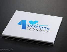 #27 untuk Logo design for Amkinah Laundry oleh DhanvirArt