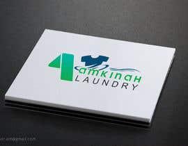 #28 untuk Logo design for Amkinah Laundry oleh DhanvirArt