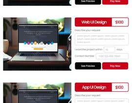 #3 untuk UI design to generate e commerce section in Home page oleh sanethinduwara