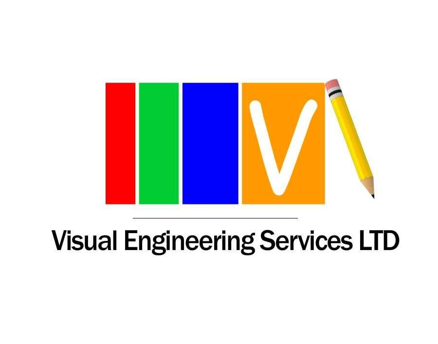 Konkurrenceindlæg #                                        8                                      for                                         Stationery Design for Visual Engineering Services Ltd