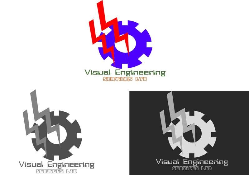 Konkurrenceindlæg #                                        26                                      for                                         Stationery Design for Visual Engineering Services Ltd