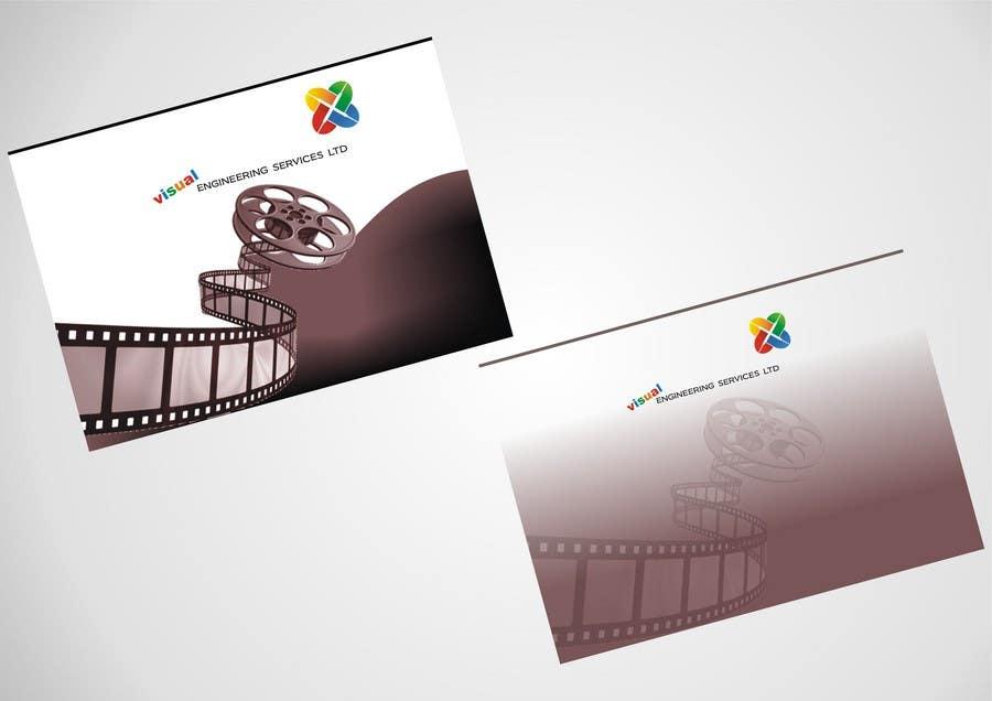 Konkurrenceindlæg #                                        37                                      for                                         Stationery Design for Visual Engineering Services Ltd
