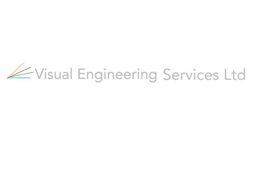 Konkurrenceindlæg #                                        43                                      for                                         Stationery Design for Visual Engineering Services Ltd