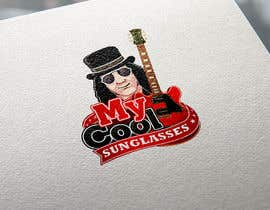 #175 para My Cool Sunglasses Logo por ChavezR