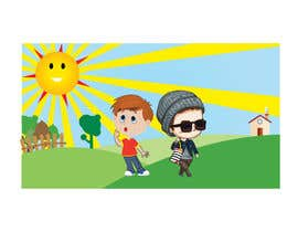 #44 para Storyboard and create a children's book around sunscreen/sunsafety de Apurbohossain177