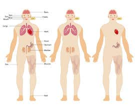 #63 para Body graphic for book about body awareness por flyhy