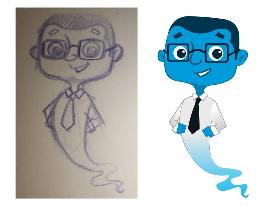 #102 for cartoon character design by DeeArtWorx