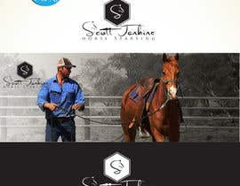 "#15 para A logo and Facebook banner. ""Scott Jenkins Horse Starting"" por DCArts101"