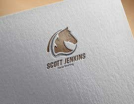 "#12 para A logo and Facebook banner. ""Scott Jenkins Horse Starting"" por kawsarnabil07"