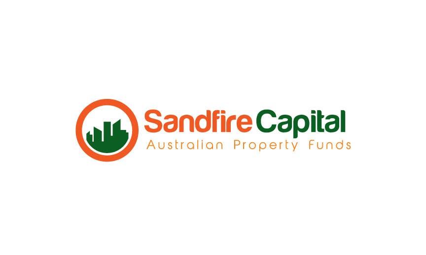 Kilpailutyö #                                        22                                      kilpailussa                                         Logo Design for Sandfire Capital - Australian Property Funds