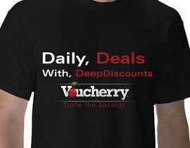 #10 para T-shirt Design for Voucherry.com de DynamicDevisions