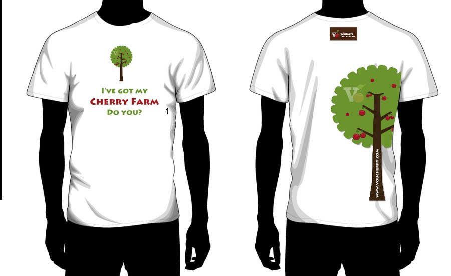 Participación en el concurso Nro.99 para T-shirt Design for Voucherry.com