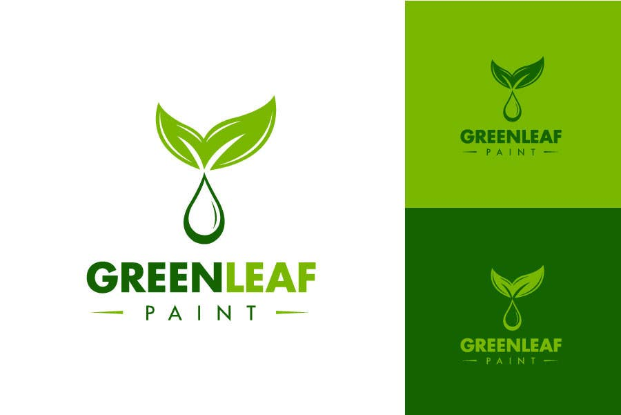 #222 for Logo Design for Green Leaf Paint by BrandCreativ3